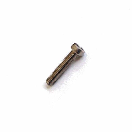 Zylinderschrauben M5 x 25 Messing DIN 84 Schlitz 200 Stk